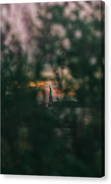 Torchlight Canvas Print