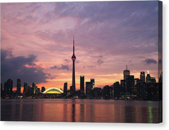 Toronto Canvas Print by Js`s Favorite Things