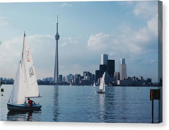 Toronto Yachting Canvas Print