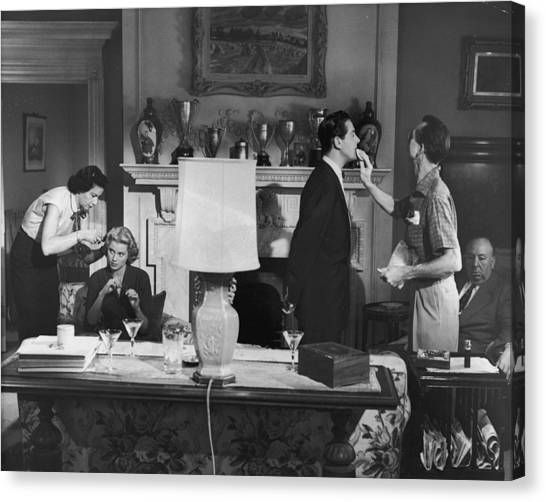 Touch Up Canvas Print by Hulton Archive