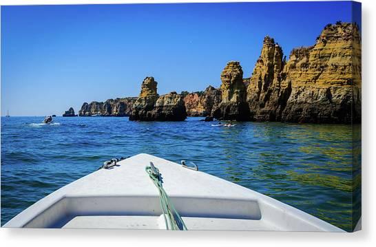 Towards The Cliffs Canvas Print