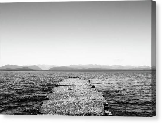 Towards The Nahuel Huapi Lake Canvas Print