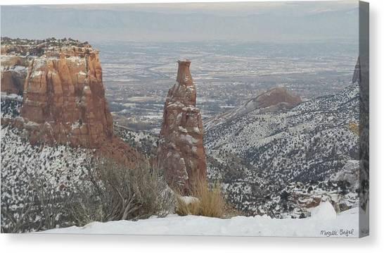Tower Rock Canvas Print