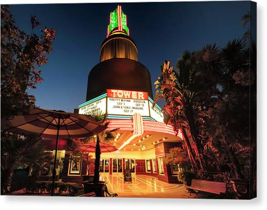 Tower Theater- Canvas Print