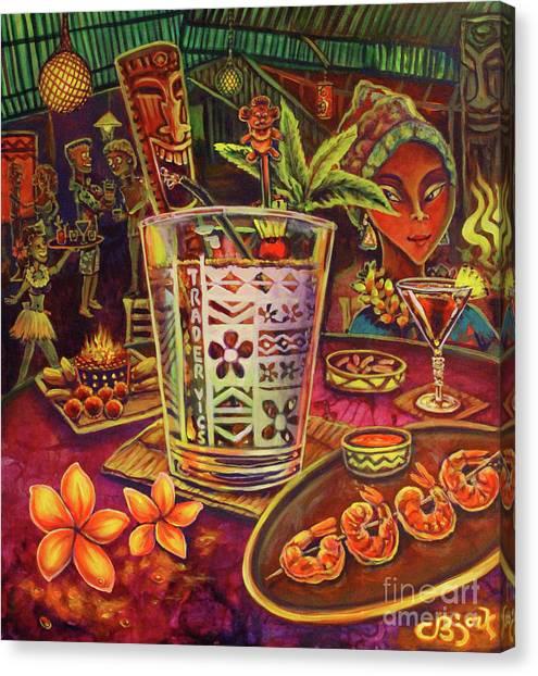Trader Vic Mai Tai Canvas Print