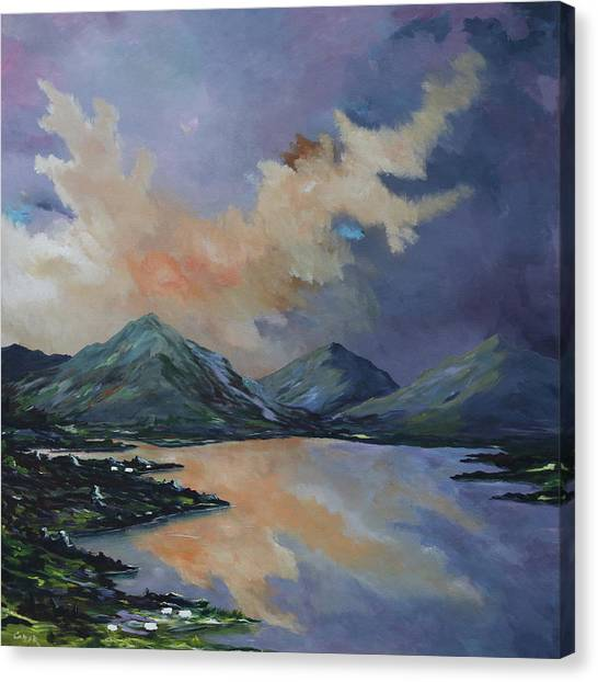 Tranquility In Killarney  Kerry Canvas Print