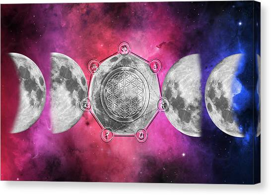 Canvas Print featuring the digital art Transformation by Bee-Bee Deigner