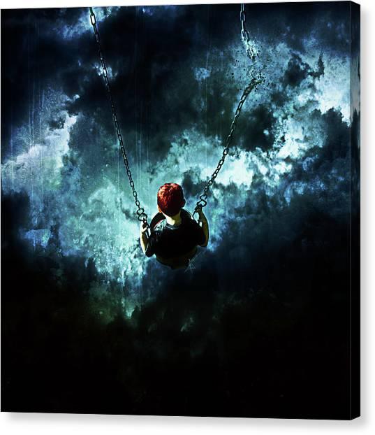 Gothic Art Canvas Print - Travel Is Dangerous by Mario Sanchez Nevado