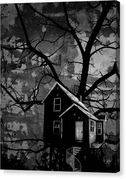 Treehouse II Canvas Print