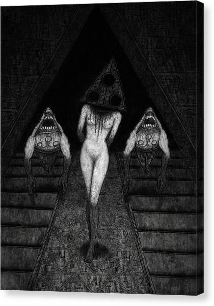 Trigia And The Dethiligox - Artwork Canvas Print