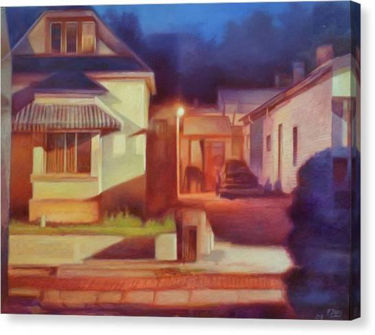 Trinidad Commercial Street Canvas Print