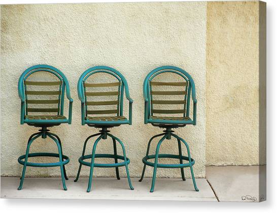 Trio Seationg Canvas Print