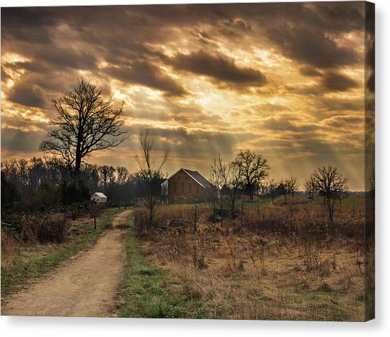Trostle Sky Canvas Print