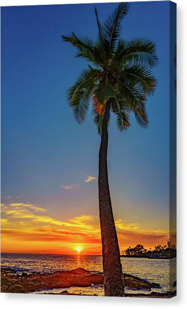 Tuesday 13th Sunset Canvas Print
