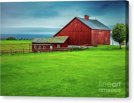 Tug Hill Farm Canvas Print