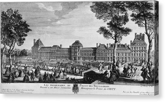 Tuileries Palace Canvas Print by Hulton Archive