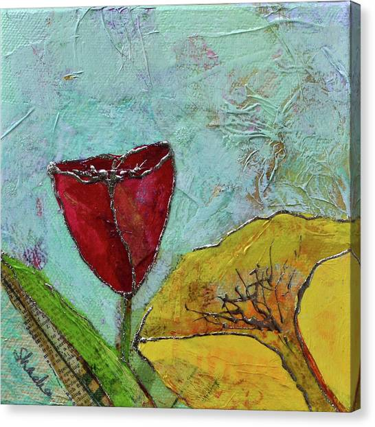 Metal Canvas Print - Tulip Festival V by Shadia Derbyshire