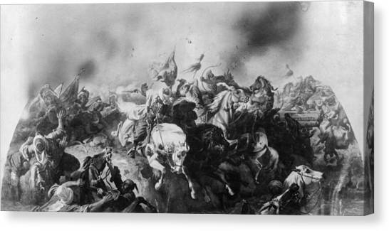 Turkish Defeat Canvas Print by Hulton Archive