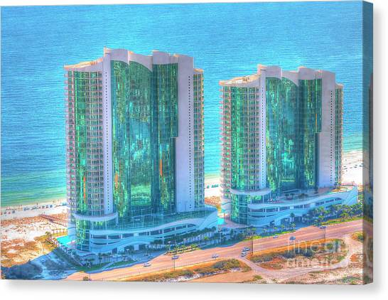 Turquoise Place Canvas Print