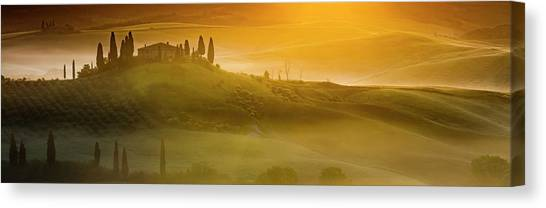 Tuscany In Gold Canvas Print