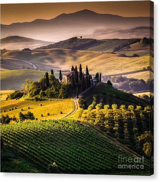 Beauty Canvas Print - Tuscany, Italy - Landscape by Ronnybas Frimages