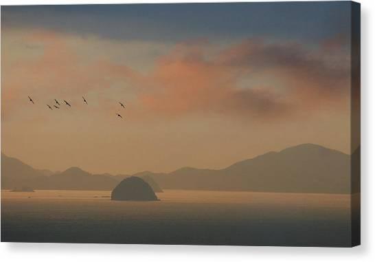 Twilight Calm Canvas Print