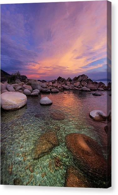 Canvas Print featuring the photograph Twilight Canvas  by Sean Sarsfield