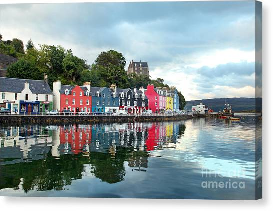 Tides Canvas Print - Uk Western Scotland Isle Of Mull by Trotalo