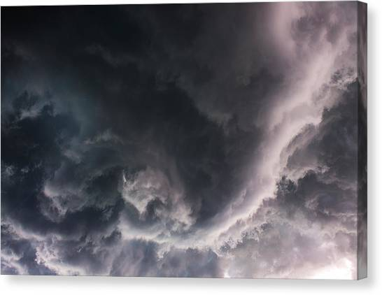Under The Developing Funnel Canvas Print by Nzp Chasers