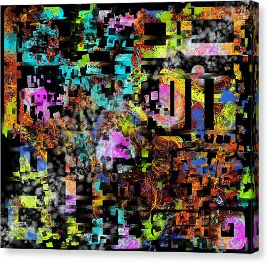 Under The Sea Digital 1 Canvas Print