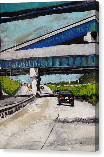 Underpass Z Canvas Print