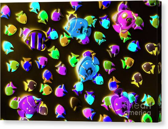 Nature Still Life Canvas Print - Underwater Glow by Jorgo Photography - Wall Art Gallery