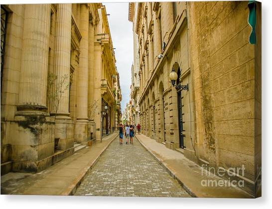 Urban Decay Canvas Print - Unesco Declared Historic Center Of by Fotos593