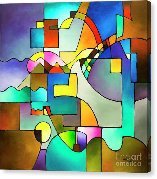 Unified Theory Canvas Print