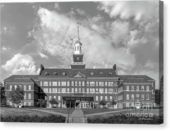 Aac Canvas Print - University Of Cincinnati Mc Micken Hall by University Icons