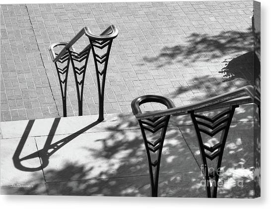 Aac Canvas Print - University Of Cincinnati Railings by University Icons