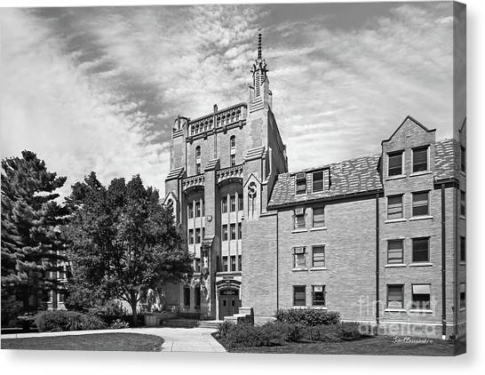 Big East Canvas Print - University Of Notre Dame Morrissey Hall by University Icons