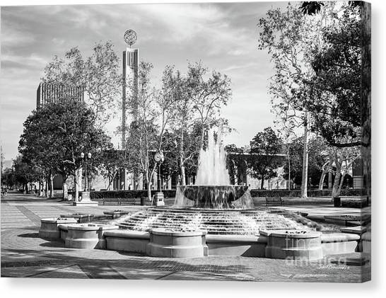 Pac 12 Canvas Print - University Of Southern California Alumni Park by University Icons
