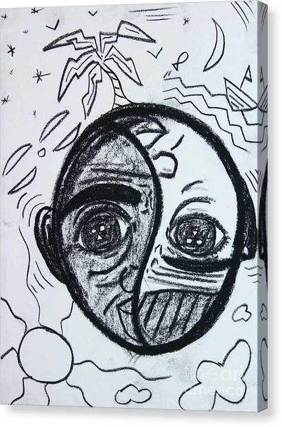 Untitled Sketch IIi Canvas Print