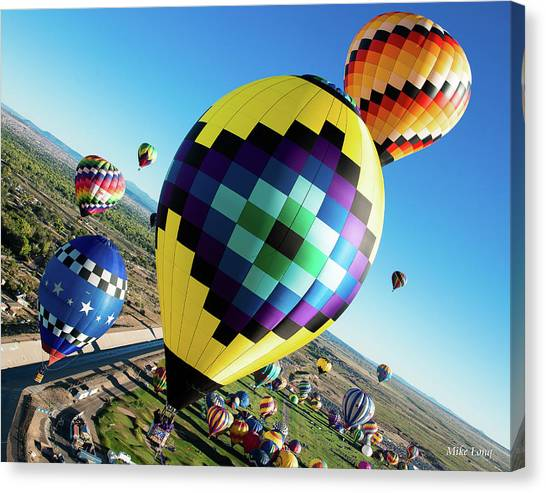 Up, Up, And Away Canvas Print