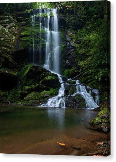 Upper Catawba Falls, North Carolina Canvas Print