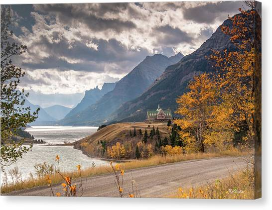 Upper Waterton Lakes Canvas Print