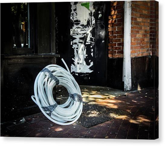 Canvas Print featuring the photograph Urbanscape by Juan Contreras