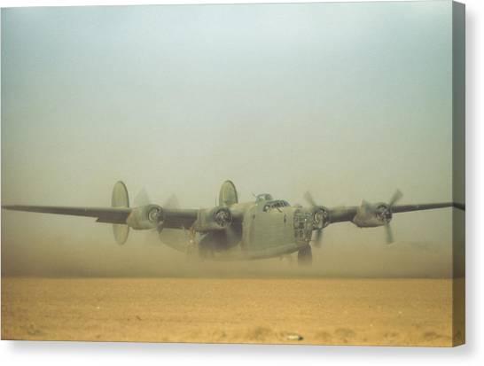 U.s Air Force In  Benghazi Libya Canvas Print by Michael Ochs Archives