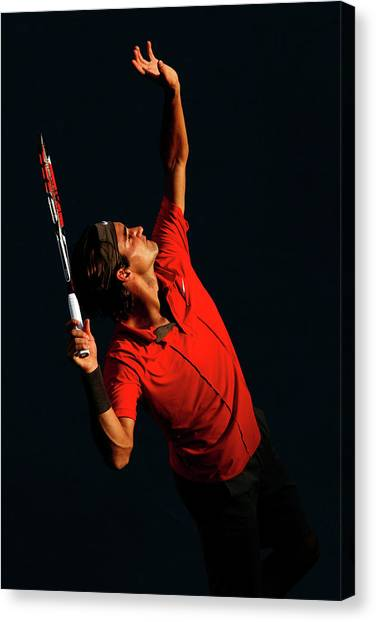 U.s. Open - Day 9 Canvas Print by Al Bello