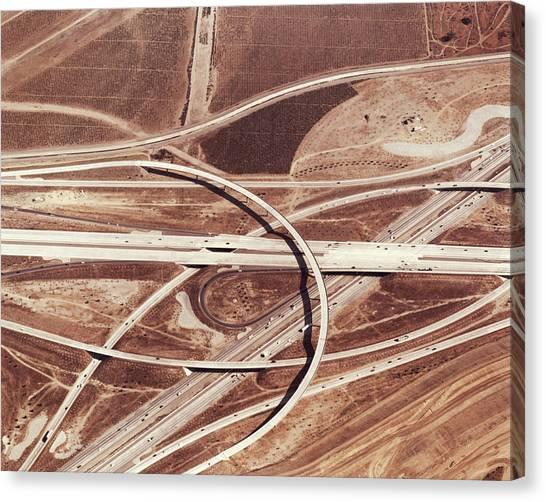 Usa, California, San Bernardino Canvas Print by Nivek Neslo