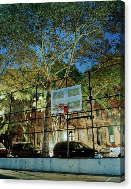 Usa, New York, Brooklyn, Fort Greene Canvas Print