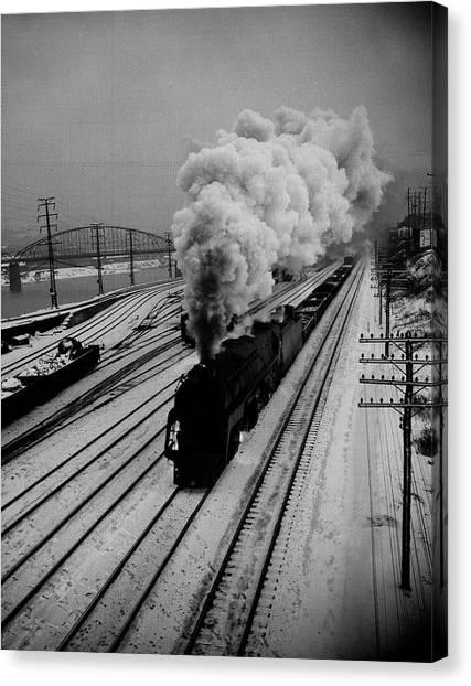 cfd733de39b Steam Train Canvas Prints