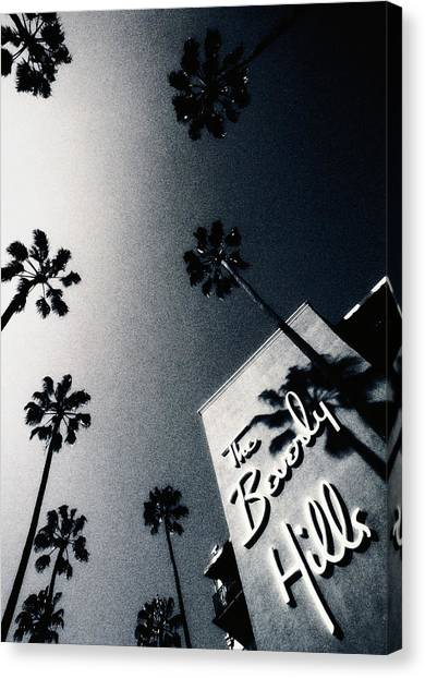 Usa,california,los Angeles,beverly Canvas Print