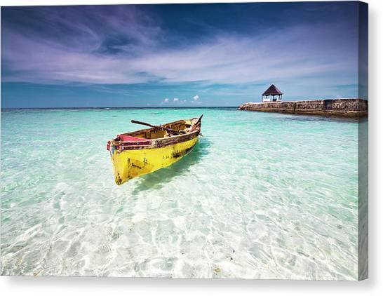 Vacation Canvas Print by David Neil Madden